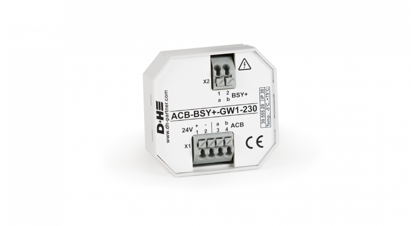 D+H ACB gateway on BSY+ 230 V AC ACB-BSY+-GW1-230